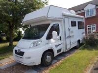 Elddis Autoquest 140 2008 4 Berth Over Cab Bed U Shaped Lounge RHD 11105