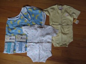 Nursing cover, New Onesies, New Snoopy Facecloths
