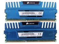 CORSAIR VENGEANCE 8GB 2x4GB DDR3 1600 Mhz CMZ8GX3M2A1600C9B