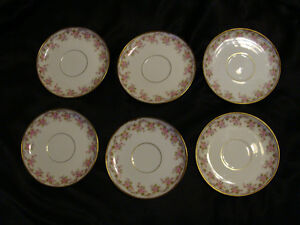 Vintage Limoge set of 6 Tea Cups and Saucers Peterborough Peterborough Area image 4