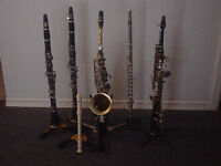In-Home Clarinet, Flute, Saxophone and Piano Lessons