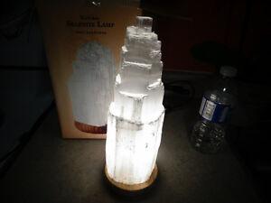 Selemite lamps