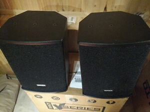 Tannoy V8 Dual Concentric PA Speakers