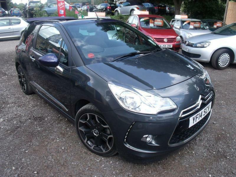 2014 citroen ds3 1 6 vti dstyle plus 2dr cabriolet cabrio 2 door convertible in baildon west. Black Bedroom Furniture Sets. Home Design Ideas