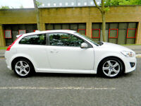 2010 10 REG VOLVO C30 1.6D DRIVe R-DESIGN 1 OWNER+FSH+FACELIFT!++
