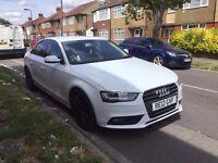 2012 Audi A4 White || £9.299