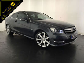 2012 MERCEDES C250 AMG SPORT CDI BLUEEF-CY COUPE DIESEL FINANCE PX WELCOME