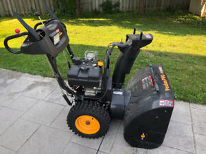 "8.5 HP - 27"" Poulan PRO Snowblower with TECUMSEH Engine"