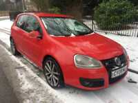2008 GOLF 2.0 TDi GT SPORT 5 DOOR HATCHBACK RED