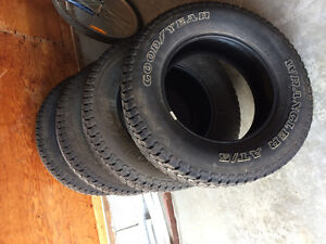 4  265/65R18 rubbers for sale