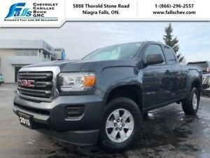 2015 GMC Canyon 2WD  ONE OWNER,REARCAM,ALLOYS,BLUETOOTH