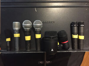 Various of Quality mic's