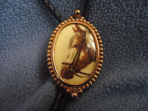 Bolo Horsehead Tie