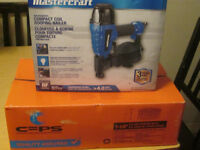 Practically new Mastercraft Roofing Nailer for sale