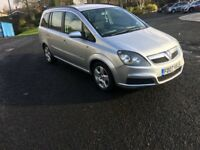 Vauxhall zafira 2007 Excellent family 7 seater Long mot