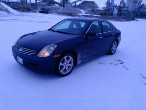 2003 Infiniti G35 has current Safety till SEPT 2017