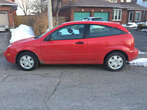 2007 Ford Focus Coupe (2 door) - 1 Owner - SOLD AS IS