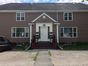 Two bedroom apartment for rent,  available July 1st