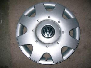 TWO 16 INCH VW WHEEL COVERS