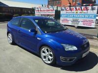 FORD FOCUS ST-2 2.5 TURBO 2006/55 **HPI CLEAR **MATCHING BLUE INTERIOR **XENONS