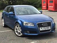 2009 Audi A3 -- 1.4 TFSi SE SportBack 5 Door --- Manual --- Part Exchange OK