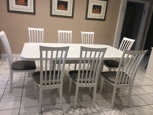 Kitchen or Dining Set 42 x 78 with 8 chairs