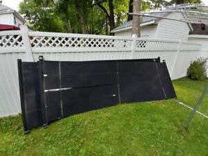 panneaux solaires Techno-Solis pour piscine