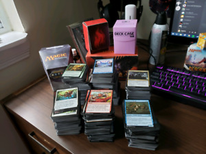 Magic The Gathering Uncommon/Common/Land + Boxes