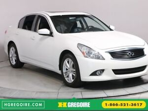 2013 Infiniti G37 Luxury AWD BLUETOOTH CAMERA RECUL CUIR TOIT OU