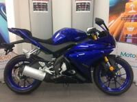 YAMAHA YZFR125 SAVE 600 LEARNER LEGAL LOW RATE FINANCE P/X WELCOME