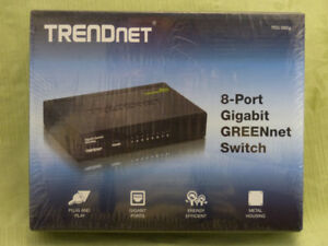 Trendnet 8-port Gigabit Switch (2 Available)