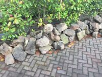 Rockery stone (approx 40 pieces)