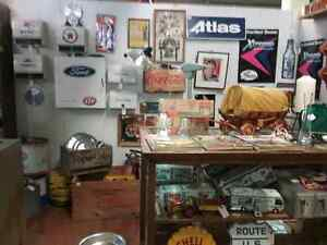 Nostalgia signs, tins license plates plus 600 booths full Peterborough Peterborough Area image 6