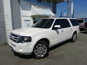 2013 Ford Expedition Max Limited 4x4, Nav, Sunroof, Leather, 8 P