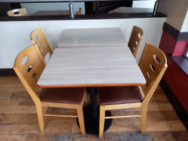 **CHEAP** Restaurant tables and chairs
