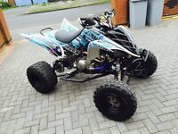 YAMAHA RAPTOR 700 ROAD LEGAL 07 REG QUAD BIKE