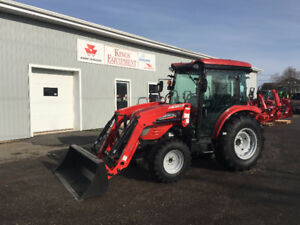 YEAR END CLEARANCE - McCormick 47hp Cab Tractor & Loader
