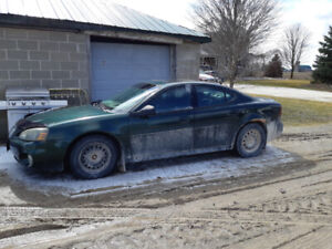 04 grand prix gt for parts