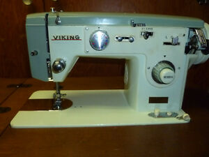 VIKING SEWING MACHINE WITH CABINET
