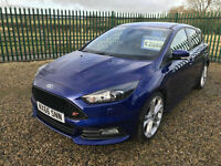 16 FORD FOCUS 2.0 TDCI ST3 185ps NAV ST STYLE PACK 1250 MILES LEATHER