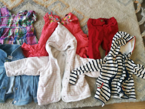 Girls clothes 1-2T