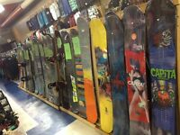 NEW & USED SNOWBOARDS