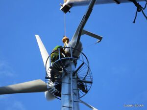 Wind Turbine - 15 KW - GLOBAL SOLAR - Electrical Independence Comox / Courtenay / Cumberland Comox Valley Area image 4