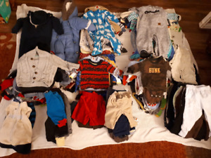 Baby clothes 0 to 18 months HUGE LOT!!!!!!!