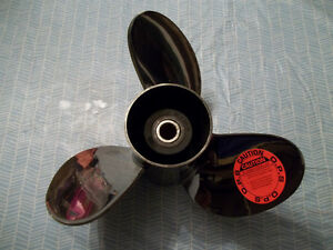 OMC/Evinrude/Johnson RakerII Stainless Propeller