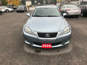 2009 AWD lexus is250