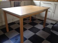 Free wooden table 80x120cm