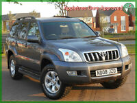 2008 (08) Toyota Land Cruiser 3.0 D-4D LC3 8 Seater Automatic