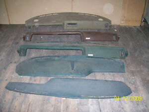 CADILLAC DASH(S) 1962/67/68/PARTS/COMPLETE CARS
