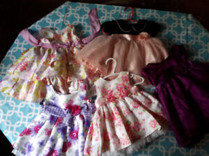 0 to 12mon baby girl clothes and other baby girl items